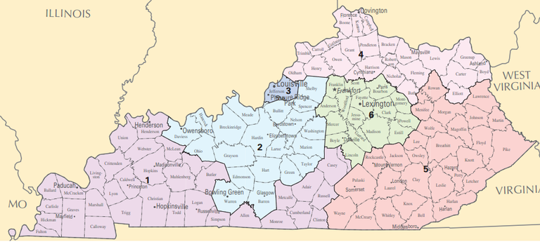 What Congressional District Am I In Anyway Kentuckians For The