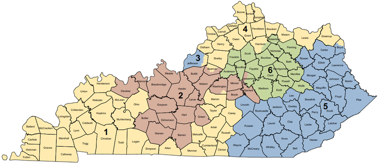 What Congressional District Am I In Anyway  Kentuckians