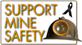 Support Mine Safety graphic
