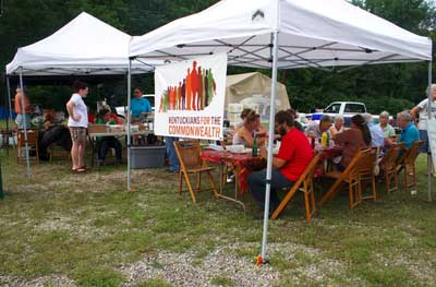 Rowan Chapter fundraiser -- canopies