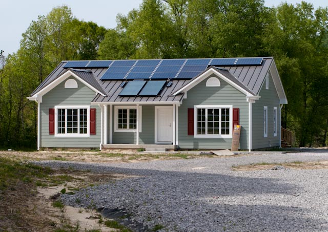 whitley net zero house
