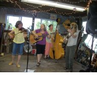 Ma Crow and the Lady Slippers, who performed at the Barn Dance, will be one of the featured acts!