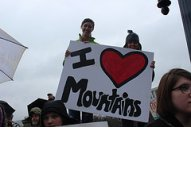 Young People Love Mountains