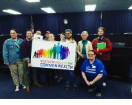 Madison Co KFTC members take action for Fairness