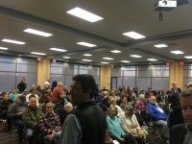 Scott County residents attend hearing to oppose the proposed landfill expansion