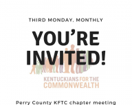 Perry County chapter meeting invite