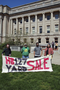 HB 127 Yard Sale at the Capitol: Great time, great work